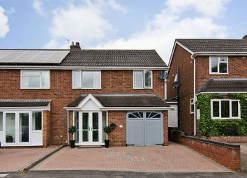 Thumbnail 3 bed semi-detached house for sale in Longstaff Croft, Lichfield
