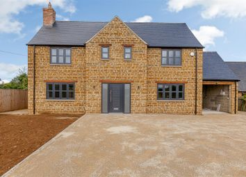 Thumbnail 4 bed detached house for sale in Banbury Road, Thorpe Mandeville, Banbury, Northamptonshire