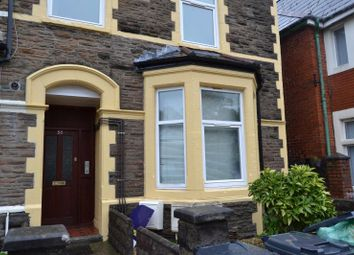 Thumbnail 3 bedroom flat to rent in 38, Miskin Street, Cathays, Cardiff, South Wales