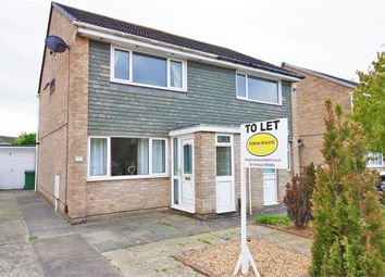 Thumbnail 2 bed semi-detached house to rent in Angrove Close, Yarm, North Yorkshire