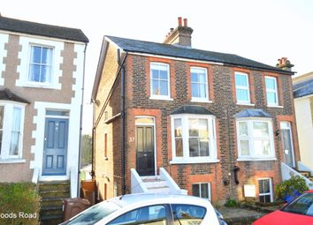 Thumbnail 3 bed semi-detached house for sale in Doods Road, Reigate, Surrey