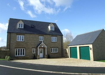 Thumbnail 5 bed detached house for sale in St. Julians Close, South Marston, Swindon