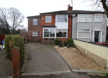 Thumbnail 4 bed semi-detached house for sale in The Avenue, Huyton, Liverpool, Merseyside