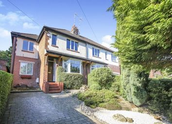 Thumbnail 3 bed semi-detached house for sale in Strines Road, Marple, Stockport, Cheshire