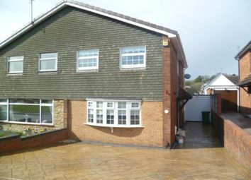 Thumbnail 3 bed semi-detached house to rent in Kestrel Road, Dudley