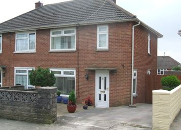 Thumbnail 2 bed semi-detached house to rent in Brynmawr, Bettws