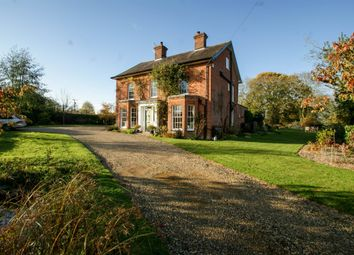 Thumbnail 6 bed detached house for sale in Halesworth Road, Linstead, Halesworth
