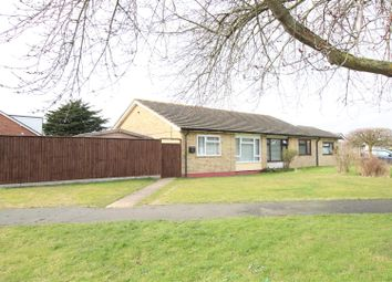 Thumbnail 2 bed semi-detached bungalow for sale in Maple Road, Stowupland, Stowmarket