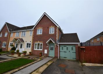 Thumbnail 3 bed semi-detached house for sale in Bluebell Drive, Llanharan, Pontyclun