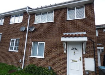 Thumbnail 3 bed terraced house to rent in Dunsmore Rd, Luton