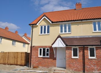 Thumbnail 3 bedroom semi-detached house for sale in Silver Tree Way, Chedburgh, Bury St Edmund's