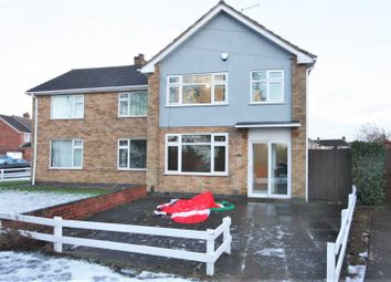 Thumbnail 3 bedroom semi-detached house for sale in Mickleden Green, Whitwick, Coalville
