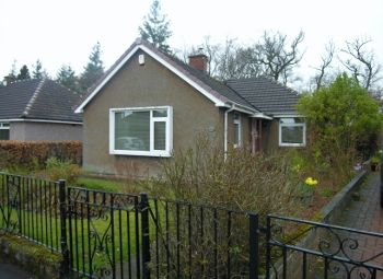 Thumbnail 3 bed detached bungalow for sale in Mossbank Road, Wishaw