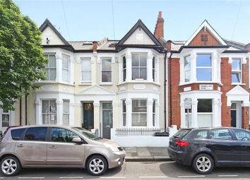 Thumbnail 3 bed flat for sale in Rowallan Road, London