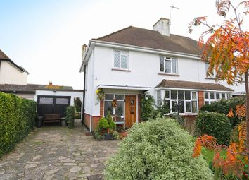 Thumbnail 3 bed semi-detached house for sale in Commonhall Lane, Hadleigh, Benfleet