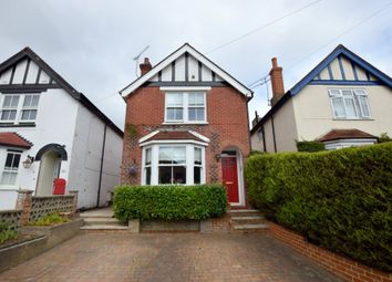Thumbnail 4 bedroom detached house for sale in Clarence Road, Fleet