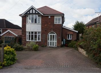 Thumbnail 3 bed detached house for sale in Pennine Drive, Nottingham