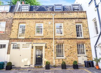 Thumbnail 2 bedroom town house for sale in Coleherne Mews, London