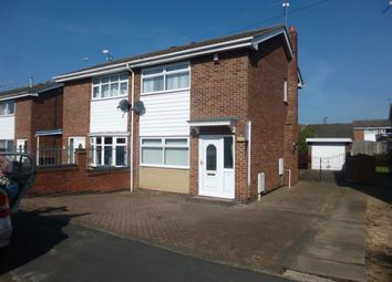 Thumbnail 2 bed semi-detached house to rent in The Lings, Armthorpe, Doncaster