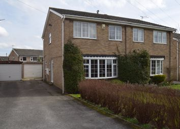 Thumbnail 3 bed semi-detached house to rent in Cavewell Gardens, Ossett