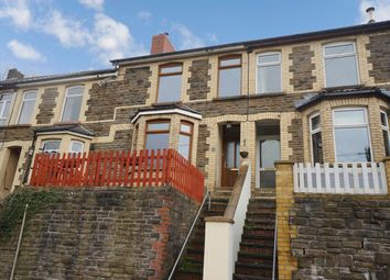 Thumbnail 3 bedroom terraced house for sale in Gelli-Unig Terrace, Cross Keys, Newport