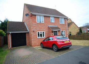 Thumbnail 4 bed detached house for sale in Glebe Walk, Cowbit, Spalding