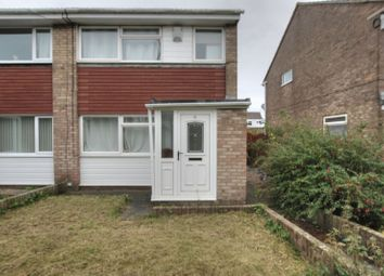 Thumbnail 3 bed semi-detached house for sale in Amberley Way, Blyth