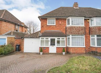 Chestnut Drive, Birmingham B36. 3 bed semi-detached house for sale