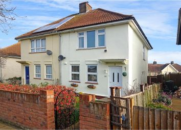 Thumbnail 3 bed semi-detached house for sale in Rochester Road, Gravesend