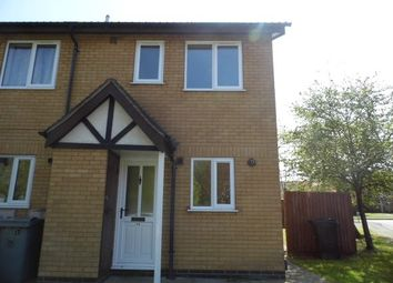 Thumbnail 2 bed semi-detached house to rent in Troon Close, Grantham
