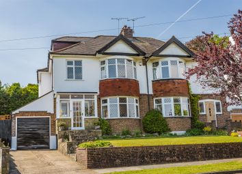 Thumbnail Semi-detached house for sale in Upper Pines, Banstead