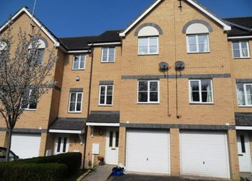 Thumbnail 3 bed town house to rent in Bertram Close, New Bradwell, Milton Keynes