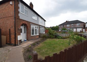 Thumbnail 3 bed semi-detached house for sale in Raeburn Road, Knighton, Leicester