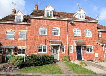 Thumbnail 3 bed town house for sale in Torres Close, Chase Meadow, Warwick