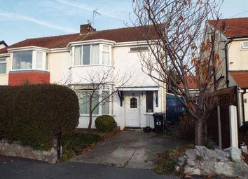 Thumbnail 3 bed semi-detached house for sale in Trafford Park, Penrhyn Bay, Llandudno, Conwy