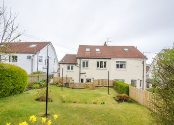 Thumbnail 3 bed semi-detached house for sale in Crosslees Drive, Thornliebank, Glasgow