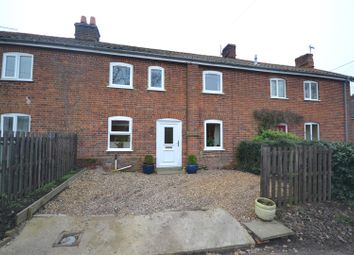 Thumbnail 3 bed cottage for sale in Runhall, Norwich