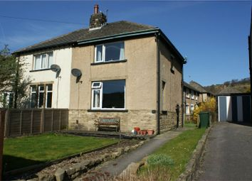 Thumbnail 2 bed semi-detached house for sale in Canal Road, Bingley, West Yorkshire