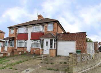 Thumbnail 3 bed semi-detached house for sale in Greencourt Avenue, Edgware