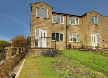 Thumbnail 3 bedroom semi-detached house for sale in Clarkson Close, Heckmondwike