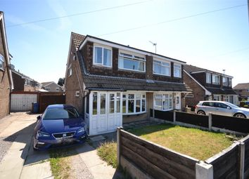 Thumbnail 3 bed semi-detached house for sale in Alpine Drive, Leigh