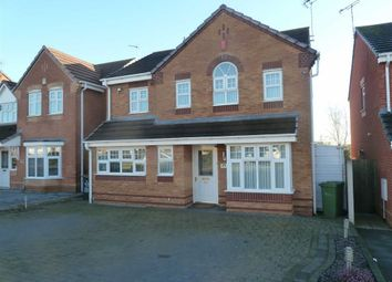 Thumbnail 4 bed detached house for sale in Shillingstone Drive, Stockingford, Nuneaton