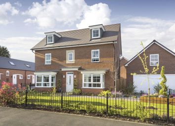 "Thumbnail 5 bed detached house for sale in ""Stratford"" at Fen Street, Brooklands, Milton Keynes"