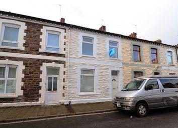 Thumbnail 3 bed terraced house for sale in Janet Street, Splott, Cardiff