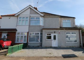 Thumbnail 4 bed semi-detached house to rent in Manser Road, Rainham, Essex