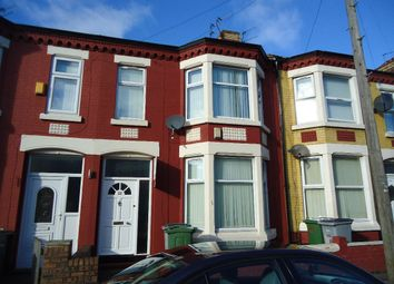 Thumbnail 3 bedroom terraced house to rent in Clarence Road, Wallasey