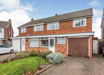3 bed semi-detached house for sale in Rocklands Crescent, Off Wissage Road, Lichfield, Staffordshire WS13