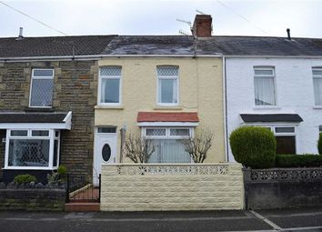 Thumbnail 2 bed terraced house for sale in Manor Road, Swansea