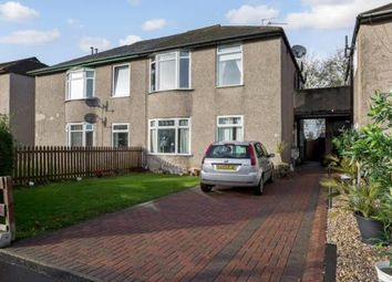 Thumbnail 3 bed flat for sale in Curling Crescent, Glasgow, Lanarkshire
