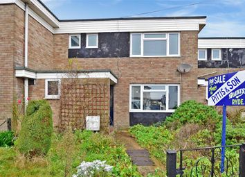 Thumbnail 3 bed terraced house for sale in Upton Road, Haylands, Ryde, Isle Of Wight